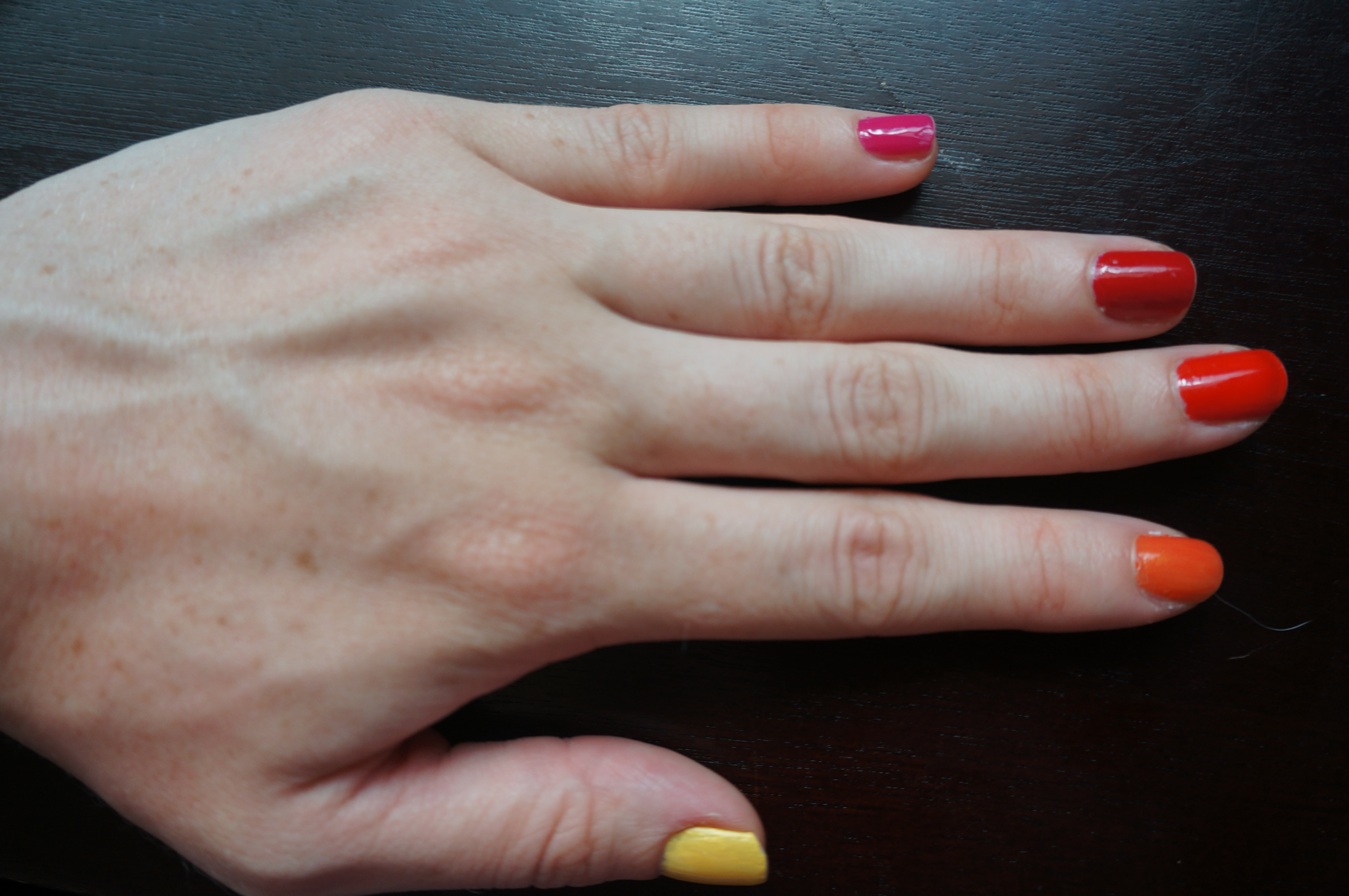 Possibly my favorite nail art ever? The SF-Inspired Rainbow Manicure ...