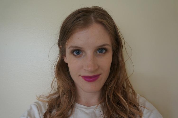 Maybelline Brazen Berry lipstick swatch
