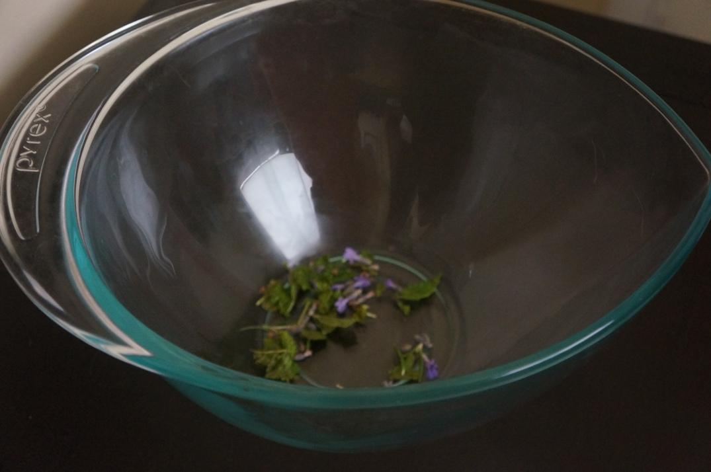 facial steam rosemary lavender