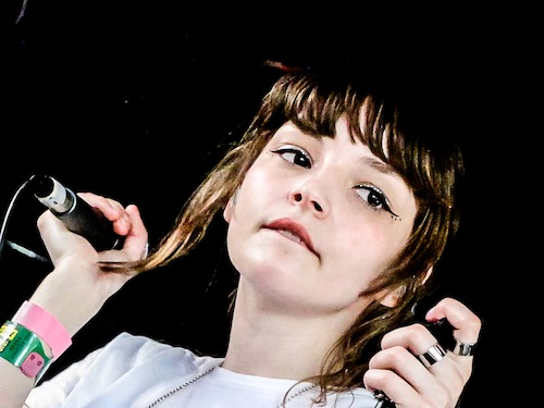 lauren mayberry chvrches makeup