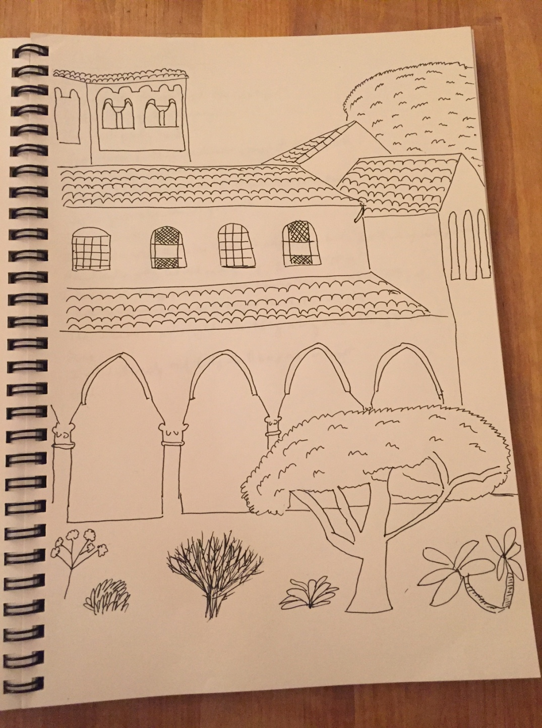 Cloisters sketch